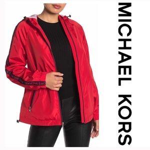 Michael Kors Sleeve Tape Logo Jacket